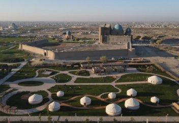 Туркестан - духовный центр тюркского мира (фото)