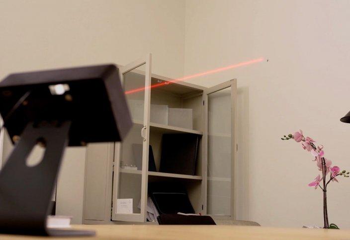 Масаны жоятын лазерлік аппарат жасалды (видео)