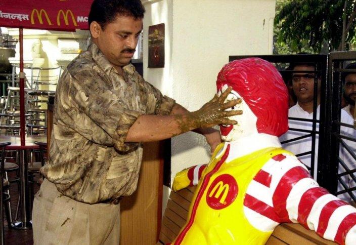 Разное: В Индии бойкотируют Макдональдс за продажу халяльного мяса