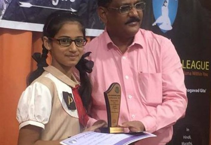 Школьница-мусульманка удивила индуистов, победив в олимпиаде по Бхагавадгите