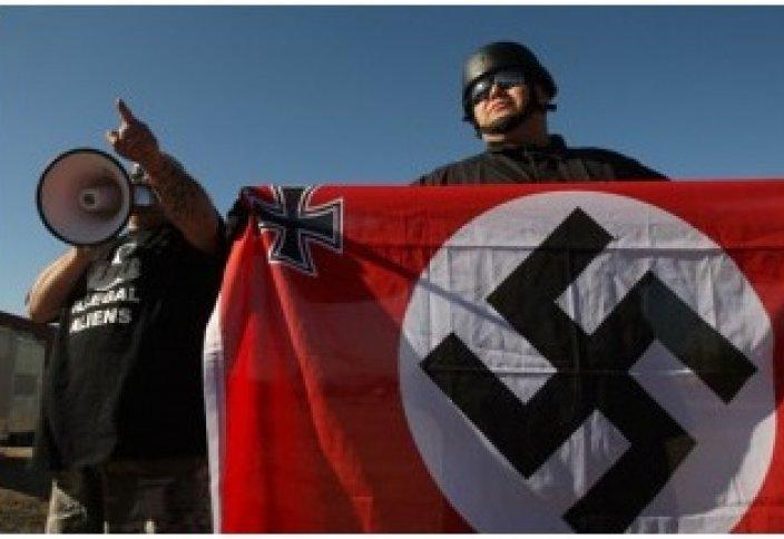 Фашист белгісі заңнан тыс деп жарияланды