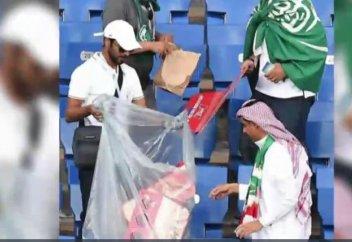 Саудиялық жанкүйерлердің әрекеті өзгелерге үлгі (видео)