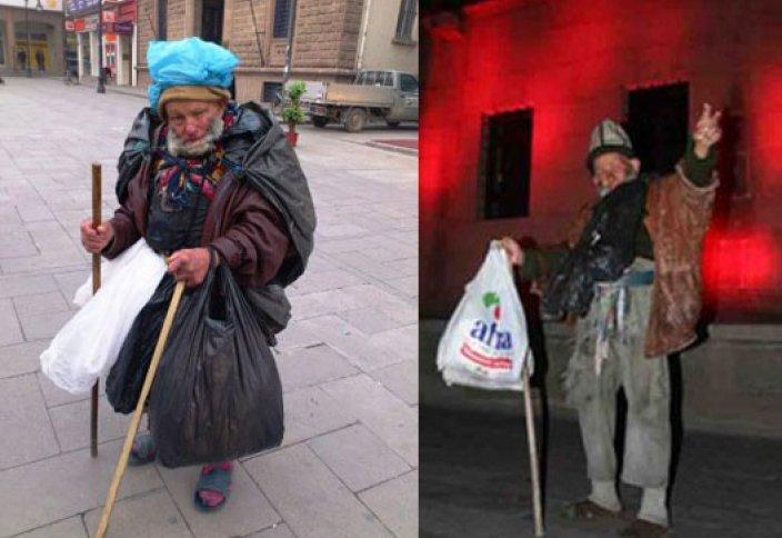 Түркиядағы пакет киген қайыршы миллионер боп шықты!
