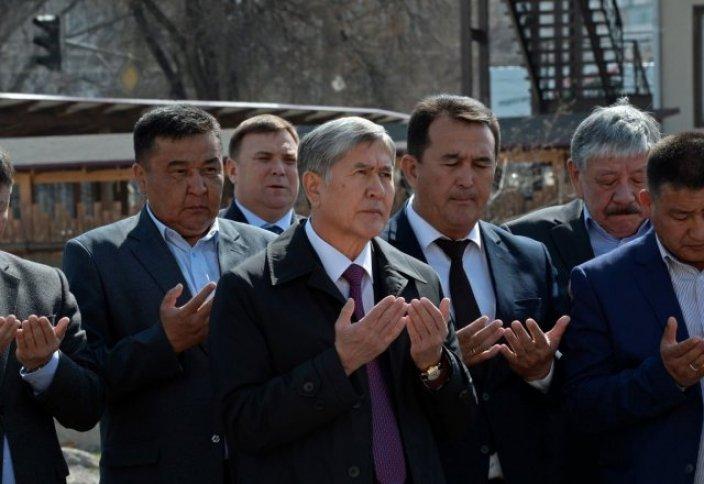 Президент Кыргызстана отдал свой земельный участок под строительство мечети