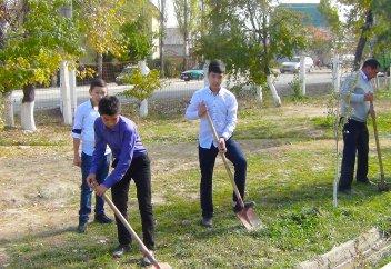 Разные: В Киргизии школам разрешили разводить огороды для прокорма учеников