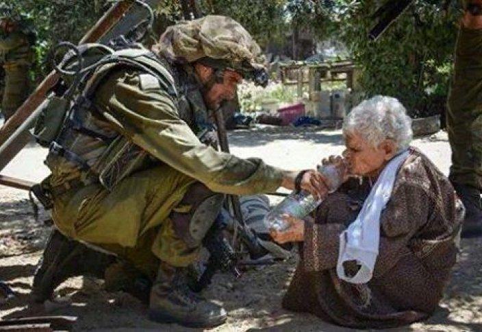Израиль сарбазының көзбояушылығы