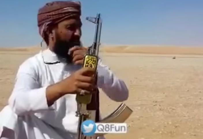 Саудиялық сұрмерген көздегенін мүлт жібермеді (видео)