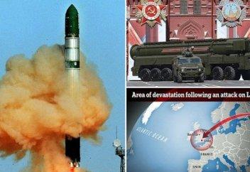 Британские СМИ рассказали о российской ракете, способной уничтожить Францию
