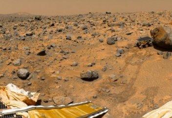 Тұңғыш рет Марстағы желдің гуілі таспаға тартылды (видео+фото)
