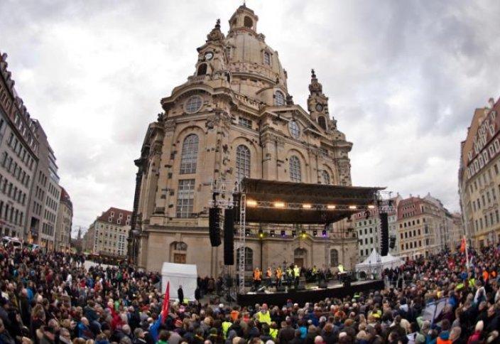 Германияда исламофобтарға қарсы тағы шеру өтті
