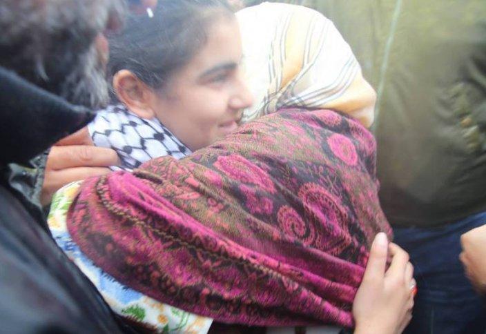 Освобождение 14-летней палестинки