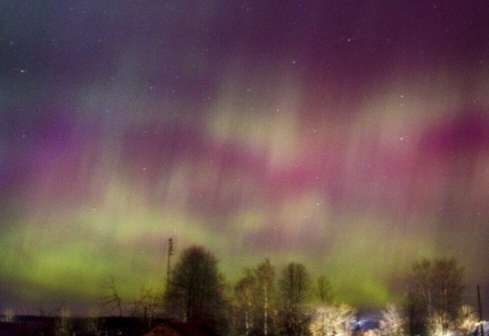 Татарстан жұрты солтүстік шұғыласын таамашалады (фото)