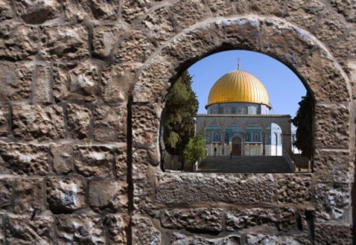 Синагога в комплексе Аль-Акса в планах