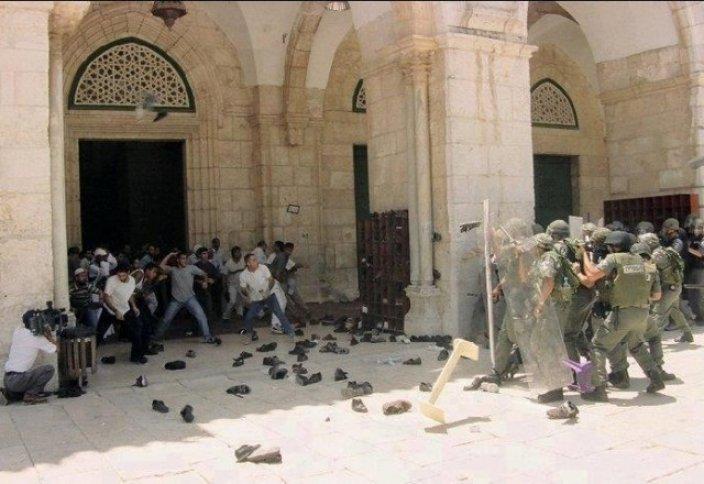 Голосование о разделении Аль-Аксы между иудеями и мусульманами - преддверие