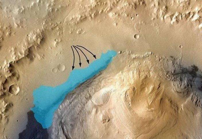 Ученые: следы жизни обнаружены на Марсе