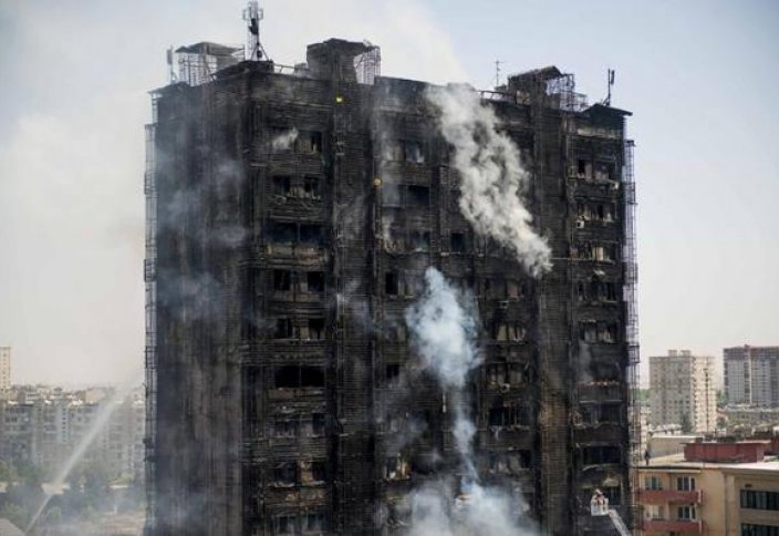 Өрттен қаза тапқандар үшін арнайы Құран оқылады (ФОТО)