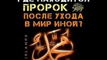 Где находится Пророк Мухаммад ﷺ после ухода в мир иной?