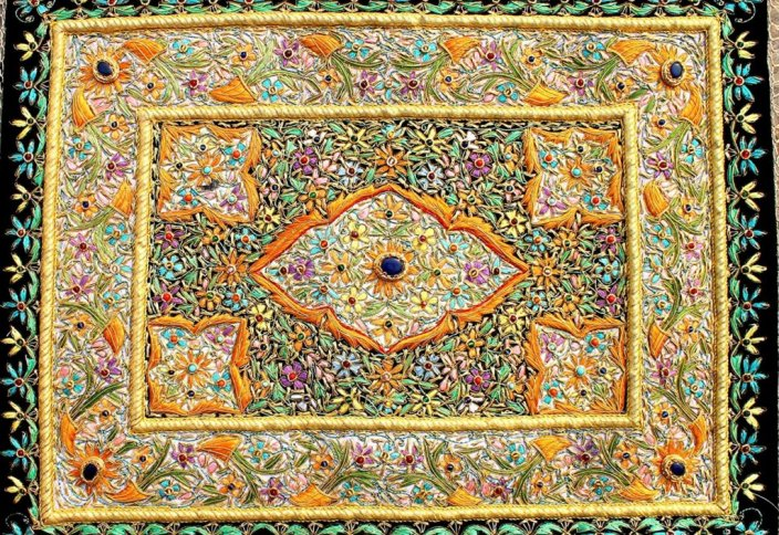 Зардози – драгоценная вышивка императоров (фото)