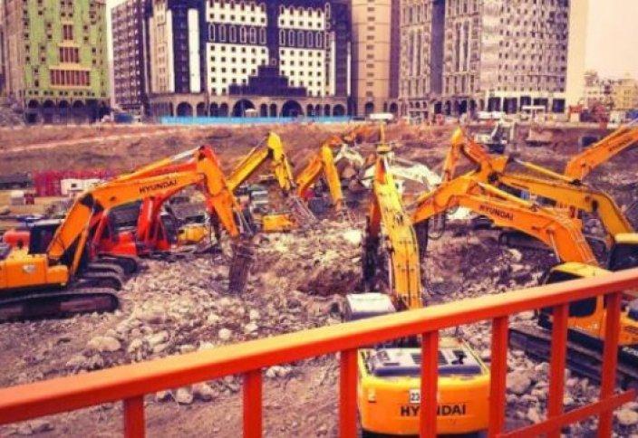 Расширение Мечети Пророка спешат закончить раньше поставленных сроков
