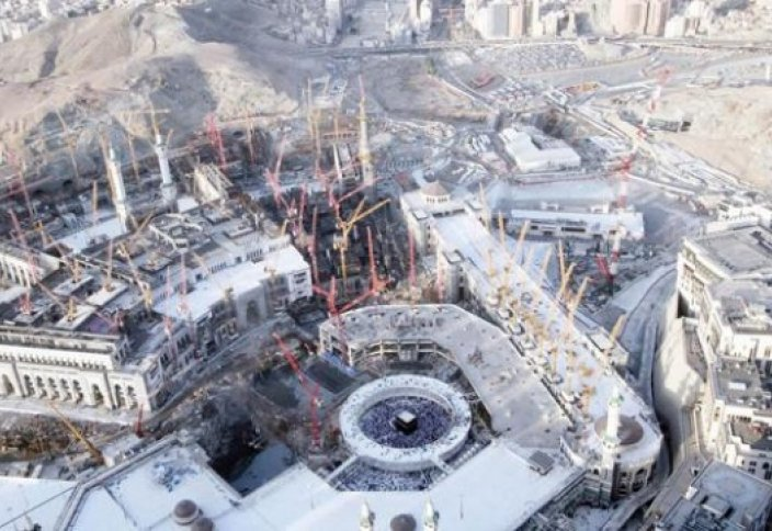 Расширенные области Заповедной мечети в Мекке постепенно открывают