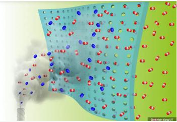 Новая мембрана улавливает только вредные газы: чистый воздух. Ученые нашли новый способ защиты от теплового излучения пламени