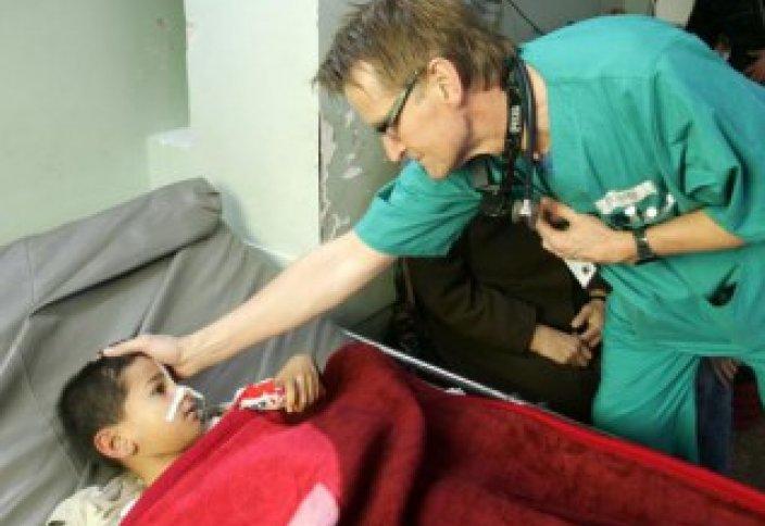 Әлемге әйгілі дәрігерді Газаға жіберген жоқ