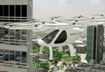 В Дубае начнут испытывать воздушное такси
