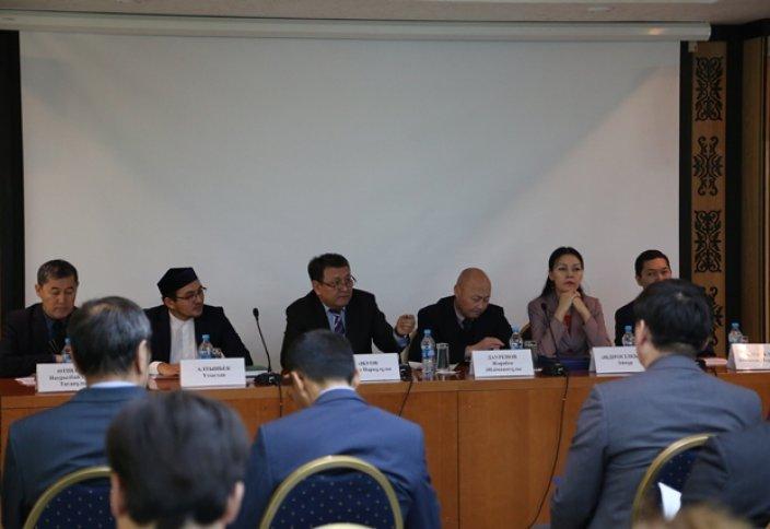 Экстремизм мен терроризм тақырыбын БАҚ-та жариялау атты конференция өтті