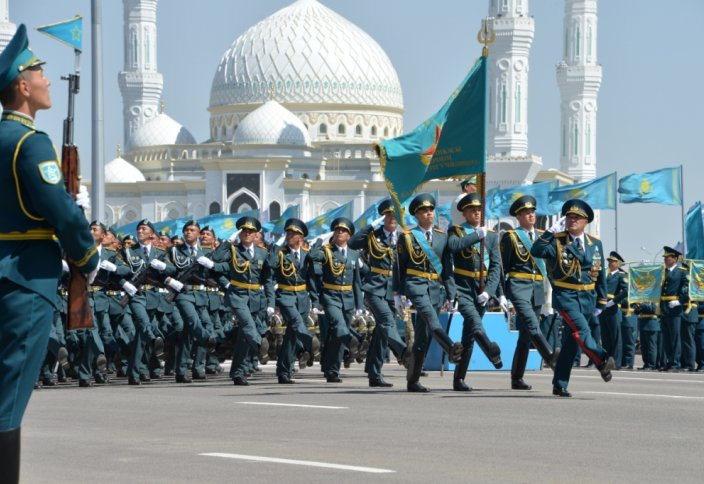 Елордада республикалық әскери парад өтеді