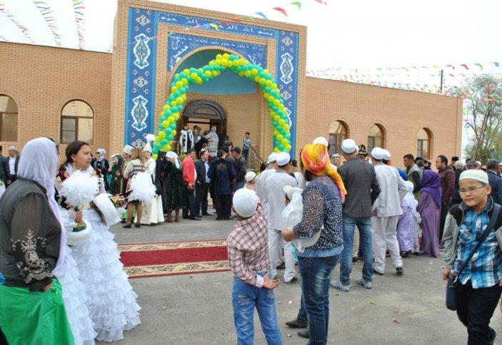Торжественное открытие нового медресе – Казахстан, Алматы