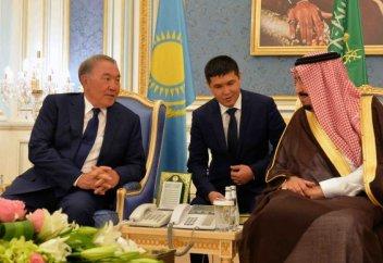 Акорда сообщила, о чем договорились Назарбаев и саудовский король (видео+фото)