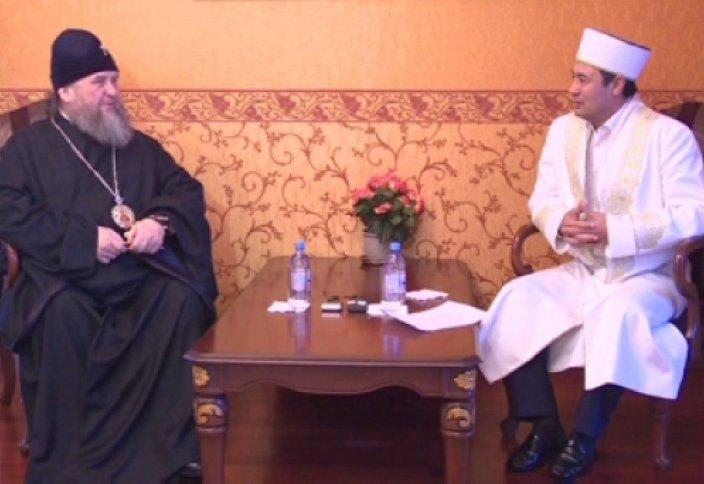 Встреча духовных лидеров Казахстана (видео)