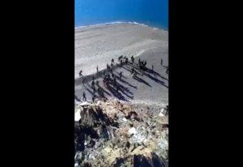 Появилось видео пограничного конфликта между военными Китая и Индии (видео)