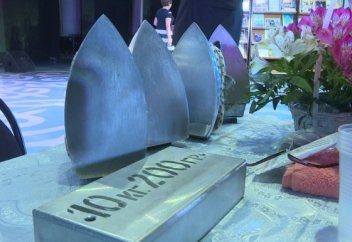 Женщина-магнит из Уральска хочет попасть в Книгу рекордов Гиннесса (фото+видео)
