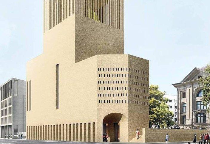 Берлинде мешіт, синагог және шіркеу бір жерден салынатын болды