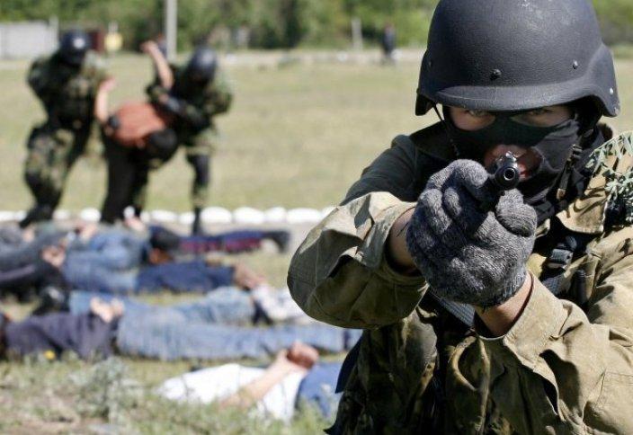 В Астане прошли антитеррористические учения