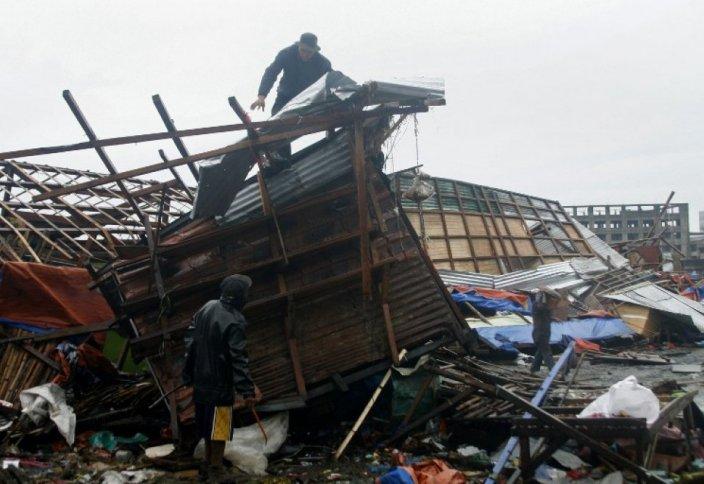 Хагупит тайфунынан 2,4 млн адам зардап шекті (фото)
