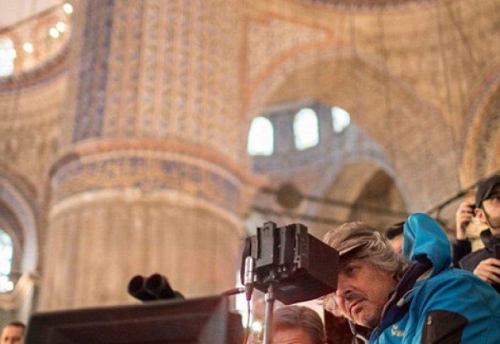 Съемки нового фильма Рассела Кроу проходят в Голубой мечети