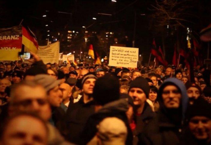 Дрезден: многотысячный марш исламофобов (видео)