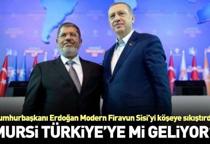 Поддержка Эрдогана – разрешение вывоза Мурси на территорию Турции