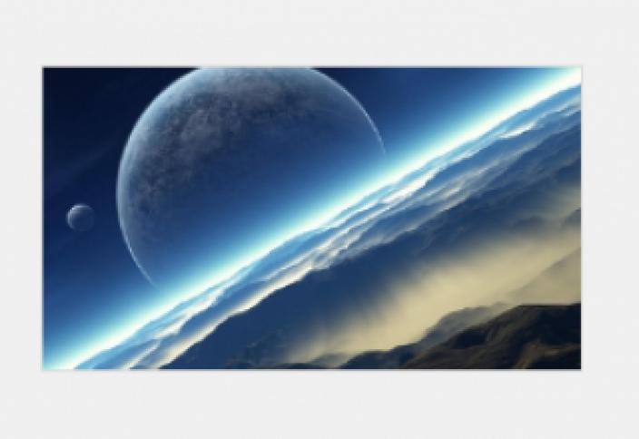 Если до Луны было бы 400 км, как до орбиты МКС (видео)