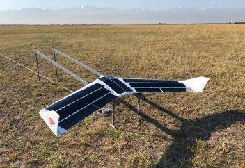 Созданный в Казахстане беспилотник готовится побить мировой рекорд (фото+видео)