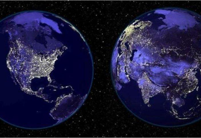 Свечение Земли в Рамадан и на Рождество самое яркое