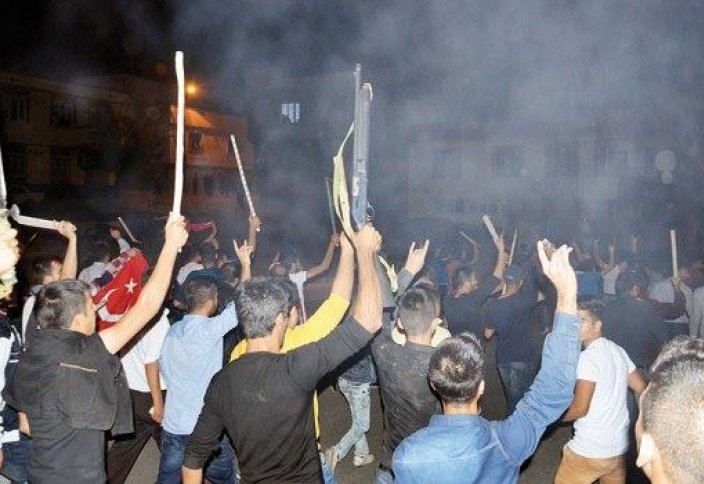 Акции протеста в Турции (видео)