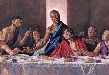 The Daily Mail (Великобритания): в британском соборе появится «Тайная вечеря» с черным Иисусом