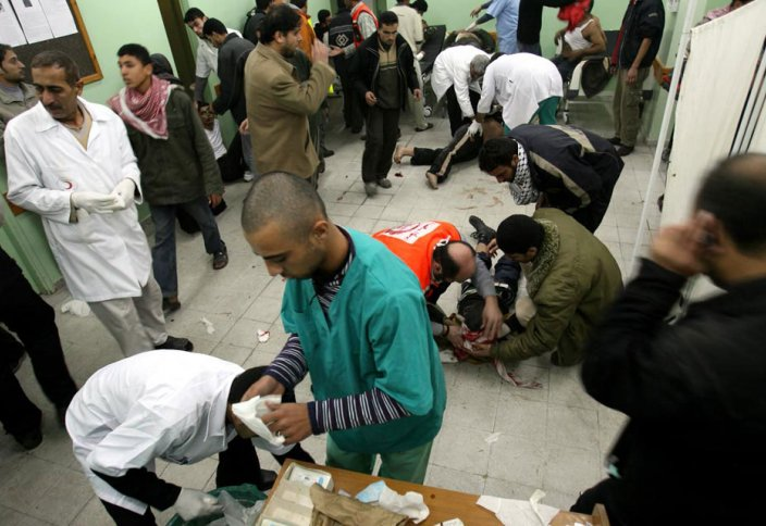 Газа секторында 121 палестиналық тұрғын қаза тапты