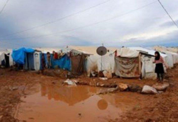 Лагеря сирийских беженцев в бедственном положении из-за дождей