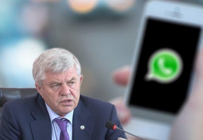 Опровержение для сообщения о воде из под крана, заполонившее WhatsApp