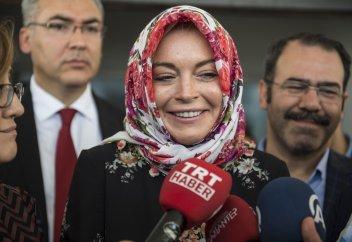 Приняла ли Ислам Линдси Лохан? (Фото)