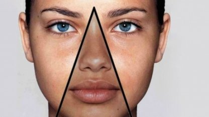 «Треугольник смерти» на лице: что означает и почему не стоит трогать руками
